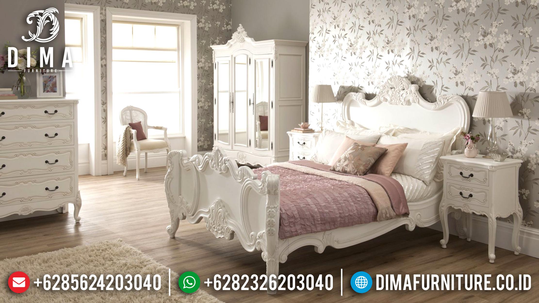Tempat Tidur Mewah Jepara, Ranjang Murah Terbaru, Kamar Set Pengantin ST-0637