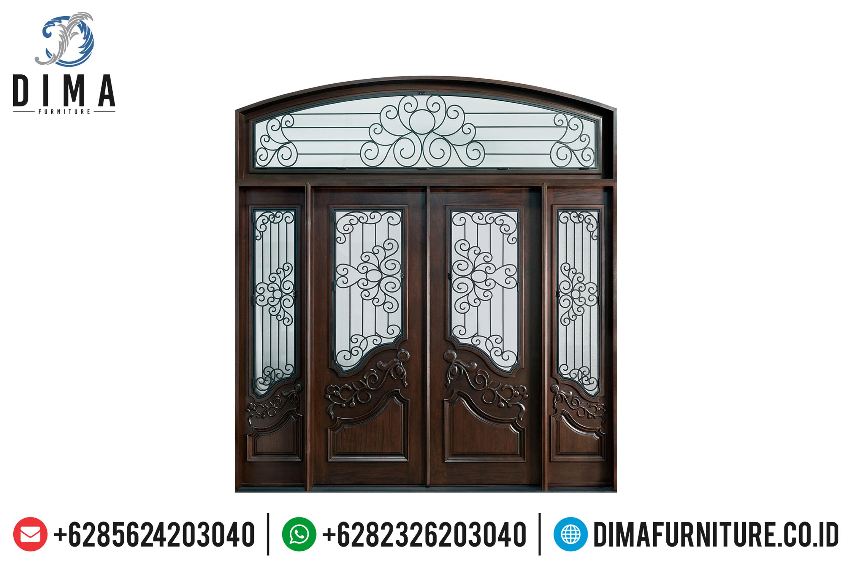 Berkualitas! Pintu Rumah Mewah, Pintu Jati Jepara, Kusen Pintu Jati Klasik ST-0655