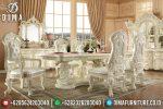 Set Meja Makan Mewah, Meja Makan Jepara, Kursi Ruang Makan Klasik ST-0650