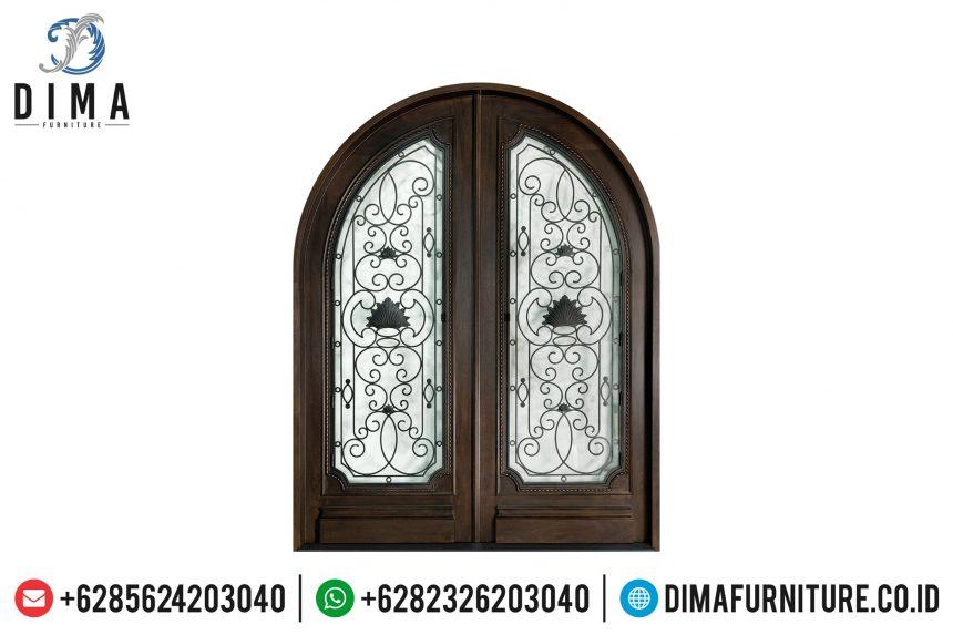 Termewah! Pintu Rumah Jati, Kusen Jati Jepara, Pintu Rumah Mewah ST-0652