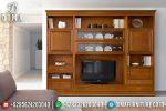 Bufet TV Minimalis Jati, Bufet TV Jepara, Lemari Hias Jati Murah ST-0679