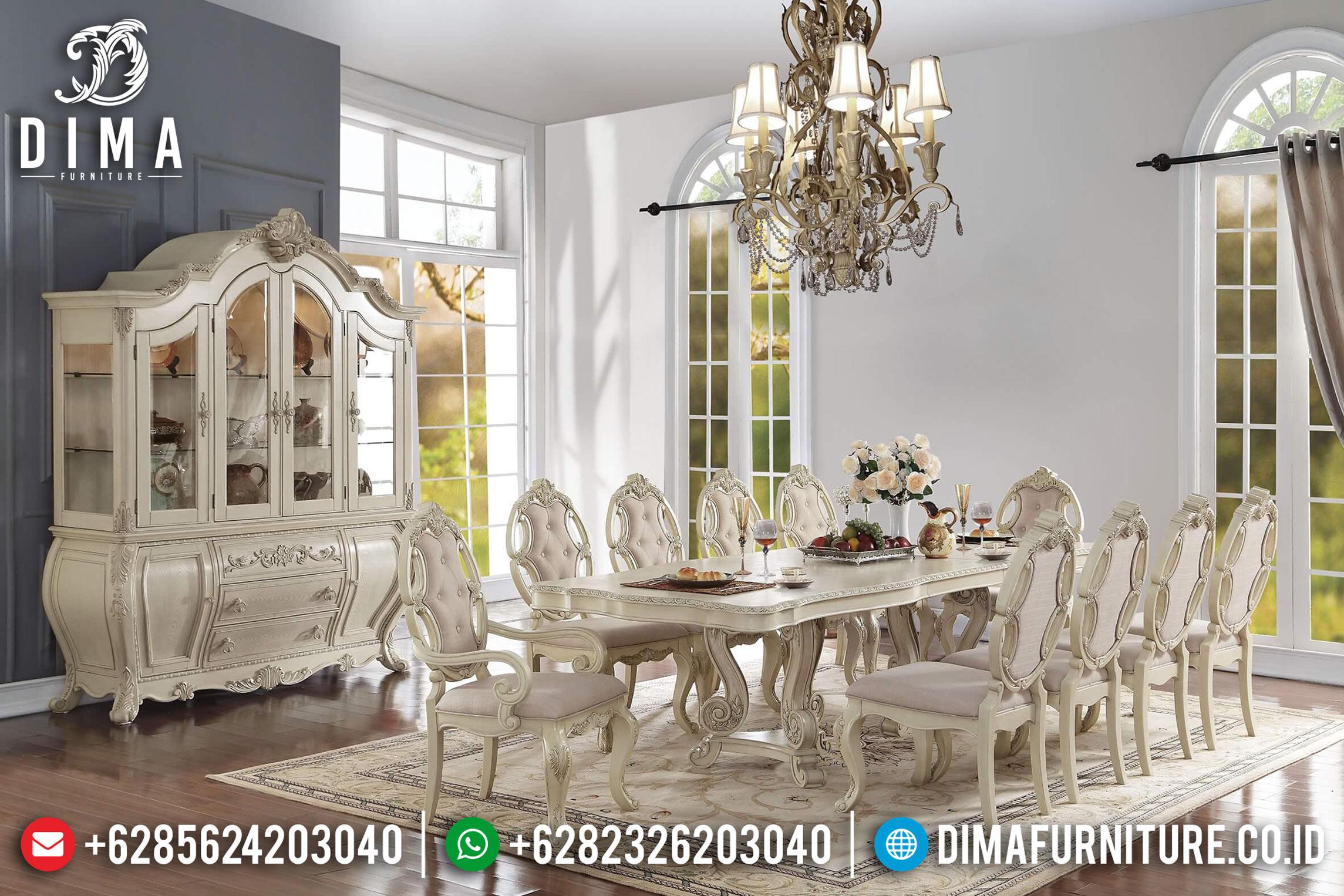 Set Meja Makan Klasik Modern Mewah Terbaru ST-0684