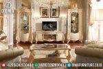Set Bufet Tv Jepara Mewah Ukir Klasik Terbaru ST-0691