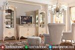 Set Bufet Tv Klasik Ukir Jepara Mewah Terbaru ST-0708