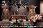 Set Bufet Tv Ukir Klasik Mewah Terbaru ST-0753
