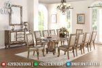 Set Meja Kursi Makan Klasik Modern Mebel Jepara Terbaru ST-0764