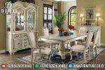 Set Meja Makan Duco Klasik Modern Mewah Terbaru ST-0757