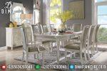Set Meja Makan Klasik Modern Mewah Model Eropa Terbaru ST-0685