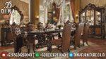 Set Meja Makan Mewah Ukir Jepara Terbaru ST-0737
