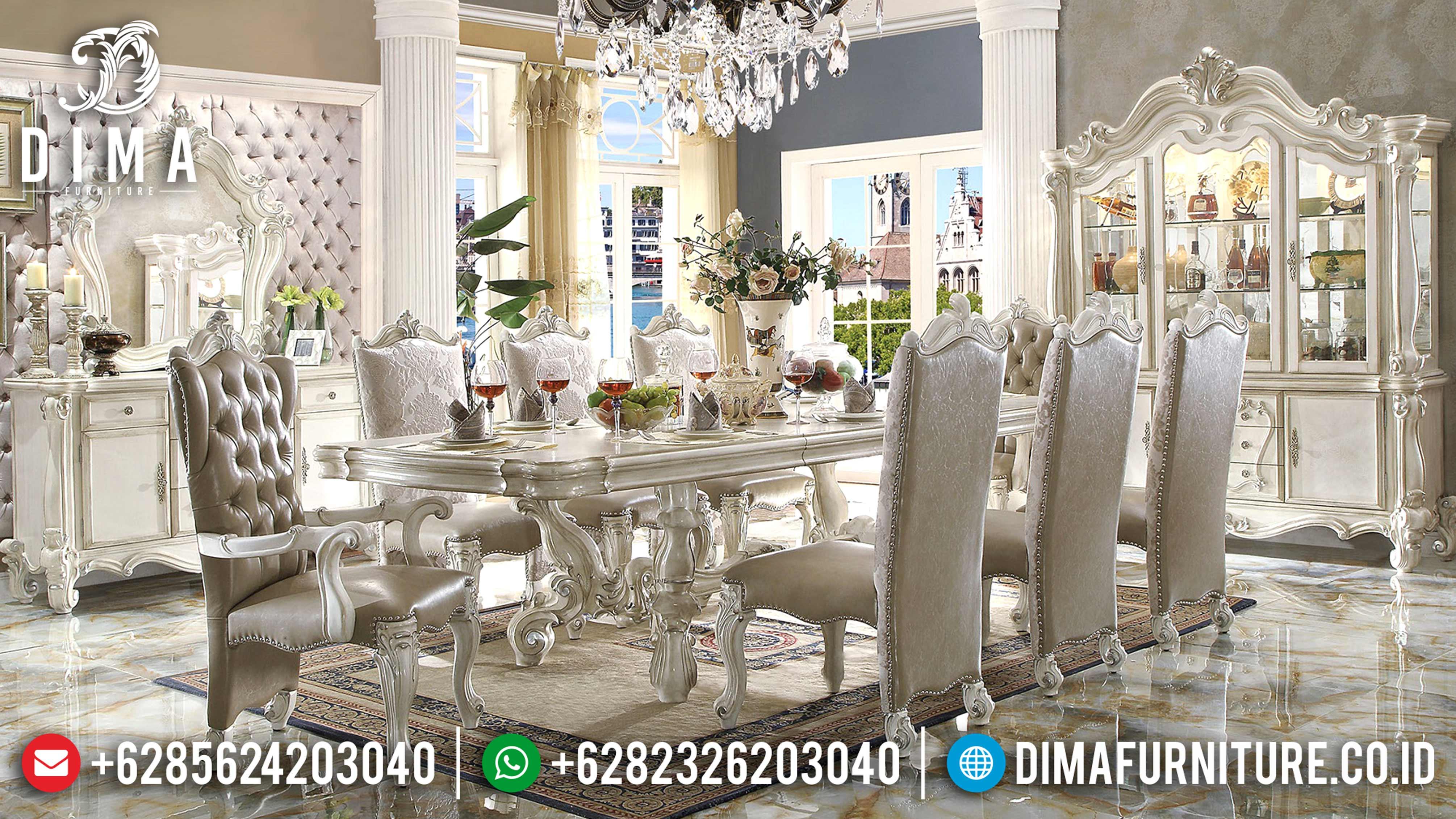 Set Meja Makan Mewah Victorian Classic Terbaru ST-0724