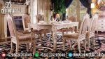 Set Meja Makan Ukir Klasik Modern Mewah Terbaru ST-0731