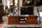Meja Tv Jati Natural Mewah Mebel Jepara Terbaru ST-0810
