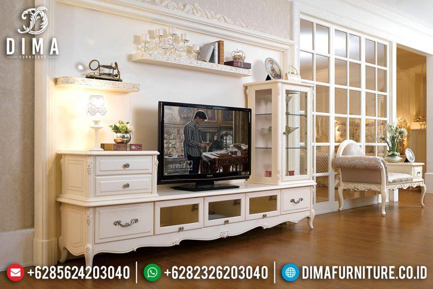 Set Bufet Tv Duco Modern Putih Mewah Terbaru ST-0780