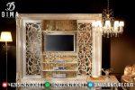 Set Bufet Tv Mewah Klasik Ukiran Mebel Jepara Terbaru ST-0816