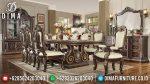 Set Meja Kursi Makan Klasik Modern Mewah Terbaru ST-0836