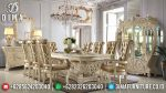 Set Meja Makan Eropa Klasik Model Minerva Terbaru ST-0826