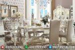 Set Meja Makan Mewah Eropa Klasik Victorian Terbaru ST-0770