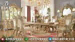 Set Meja Makan Ukir Mewah Minerva Klasik Terbaru ST-0825