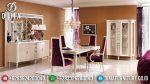 Set Meja Kursi Makan Modern Duco Mewah Terbaru ST-0850