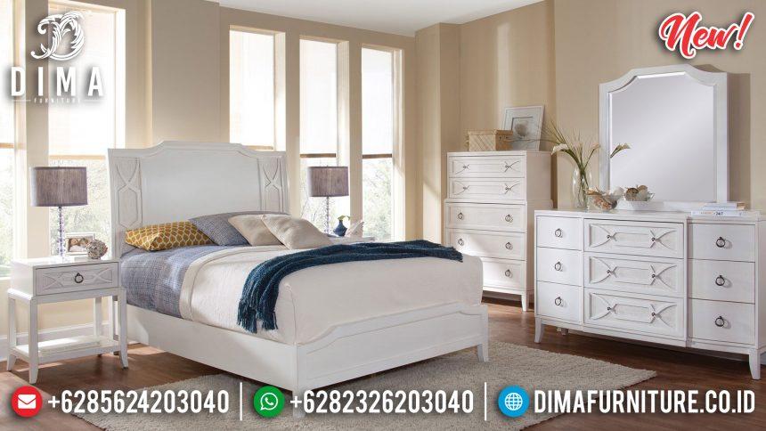 Jual Tempat Tidur Jepara Duco Putih New Model ST-0856