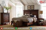 Jual Tempat Tidur Minimalis Jepara New Natural Brown ST-0863