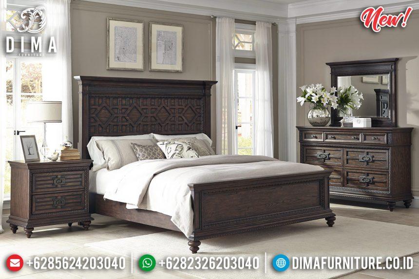 New Models Tempat Tidur Jepara Jati Ukir Luxurious ST-0862