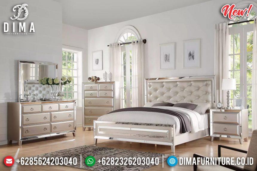 Tempat Tidur Minimalis Cermin Glamorous ST-0861