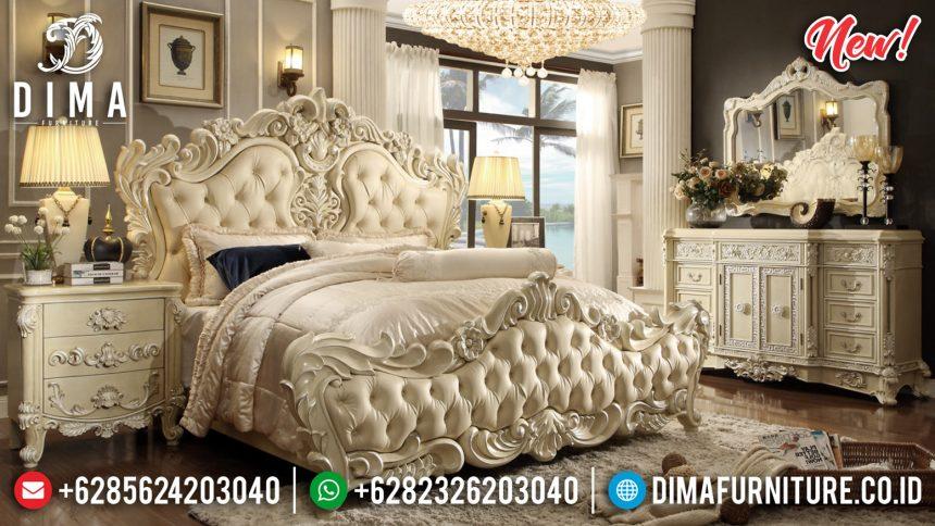 Jual Set Kamar Tidur Mewah Ukiran Jepara Luxury Italian ST-0871