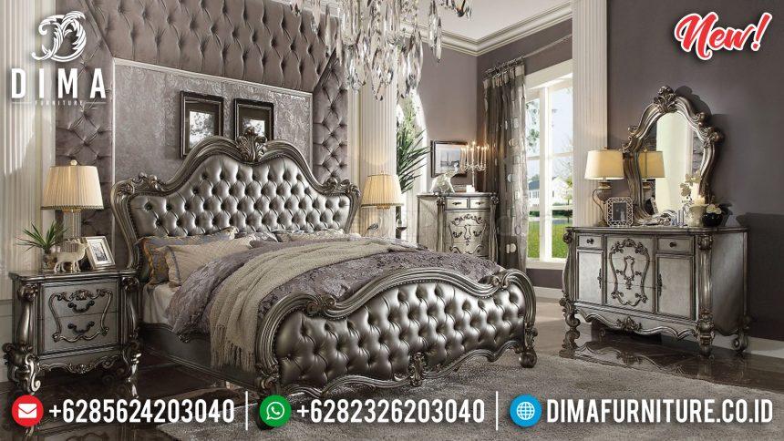 Super Luxury Kamar Set Mewah Victorian Silver ST-0869