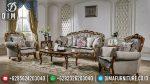 Desain Sofa Tamu Jati Ukiran Mewah Harga Murah Meriah ST-0889