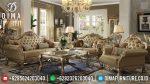 Desain Sofa Tamu Jepara Mewah Ukiran Classic Golden Duco Glossy ST-0885