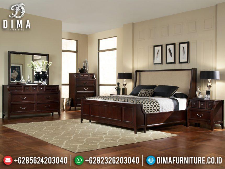 Kamar Set Jati Minimalis Kayu Perhutani Furniture Jepara ST-0879