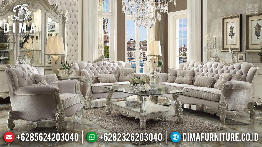 Sofa Tamu Luxury Galena Design Mewah New 2020 ST-0886
