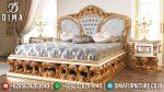 Extraordinary Tempat Tidur Mewah Jepara Gold Leaf ST-2028