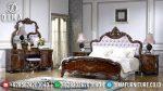 Jual Kamar Set Tempat Tidur Jati Jepara Astetik Natural ST-2025
