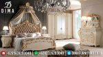 Juliette Set Tempat Tidur Mewah Jepara Gold Ivory ST-2024
