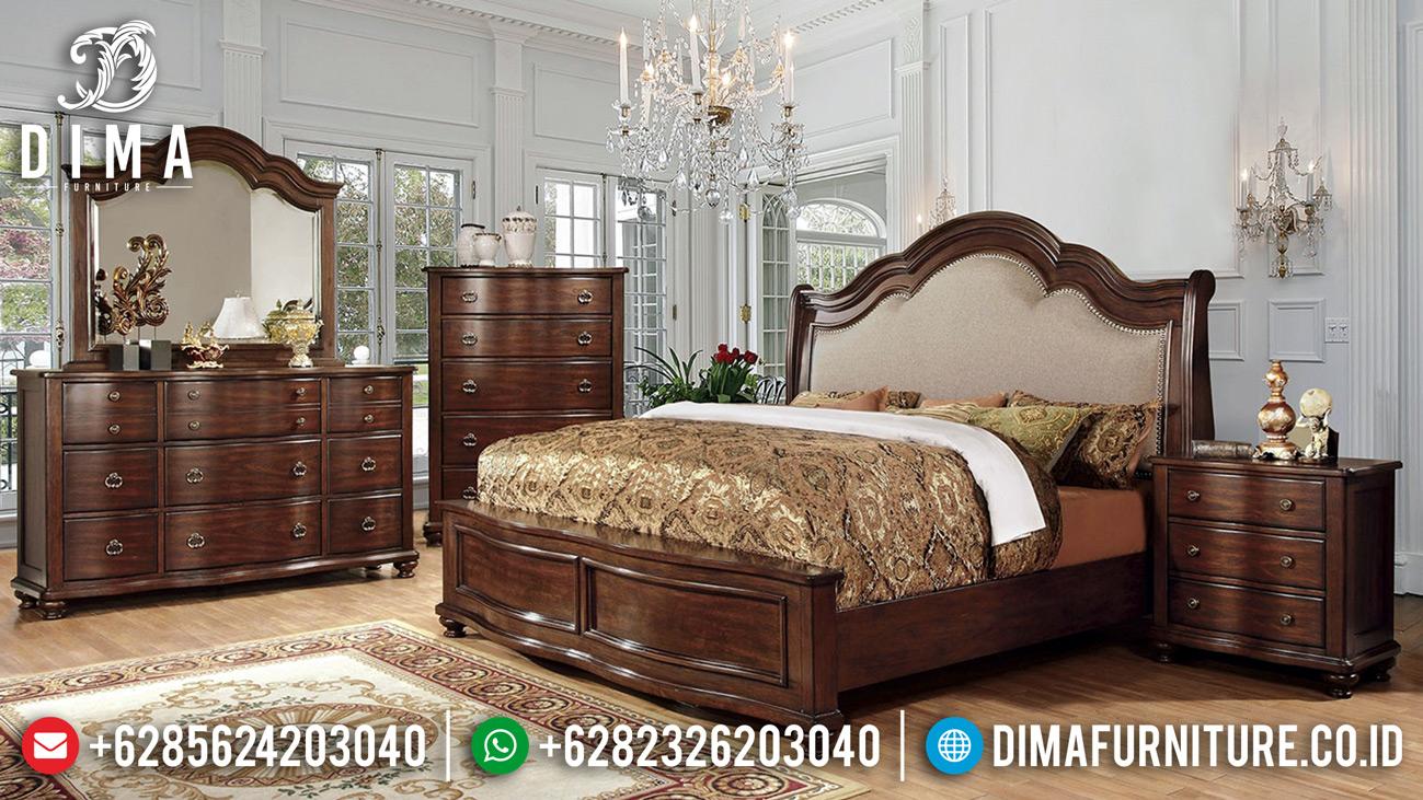 New Tempat Tidur Jati Jepara Minimalis Mewah Sintia ST-2022