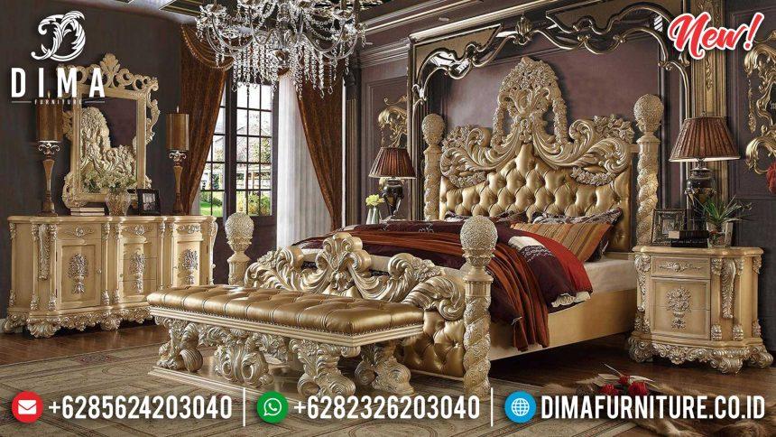 Set Tempat Tidur Mewah Classic Jepara Golden Victorian ST-0896