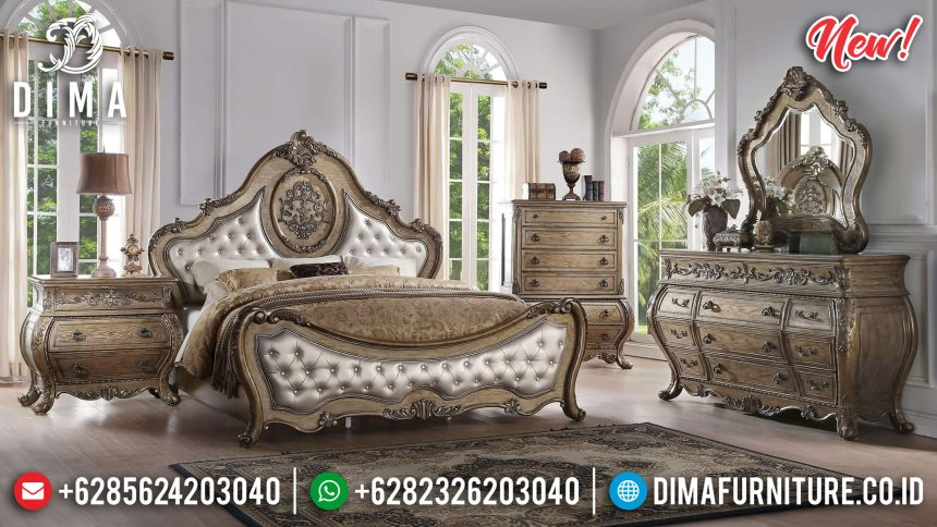 Set Kamar Tidur Klasik Mewah Luxury Bedroom ST-0908