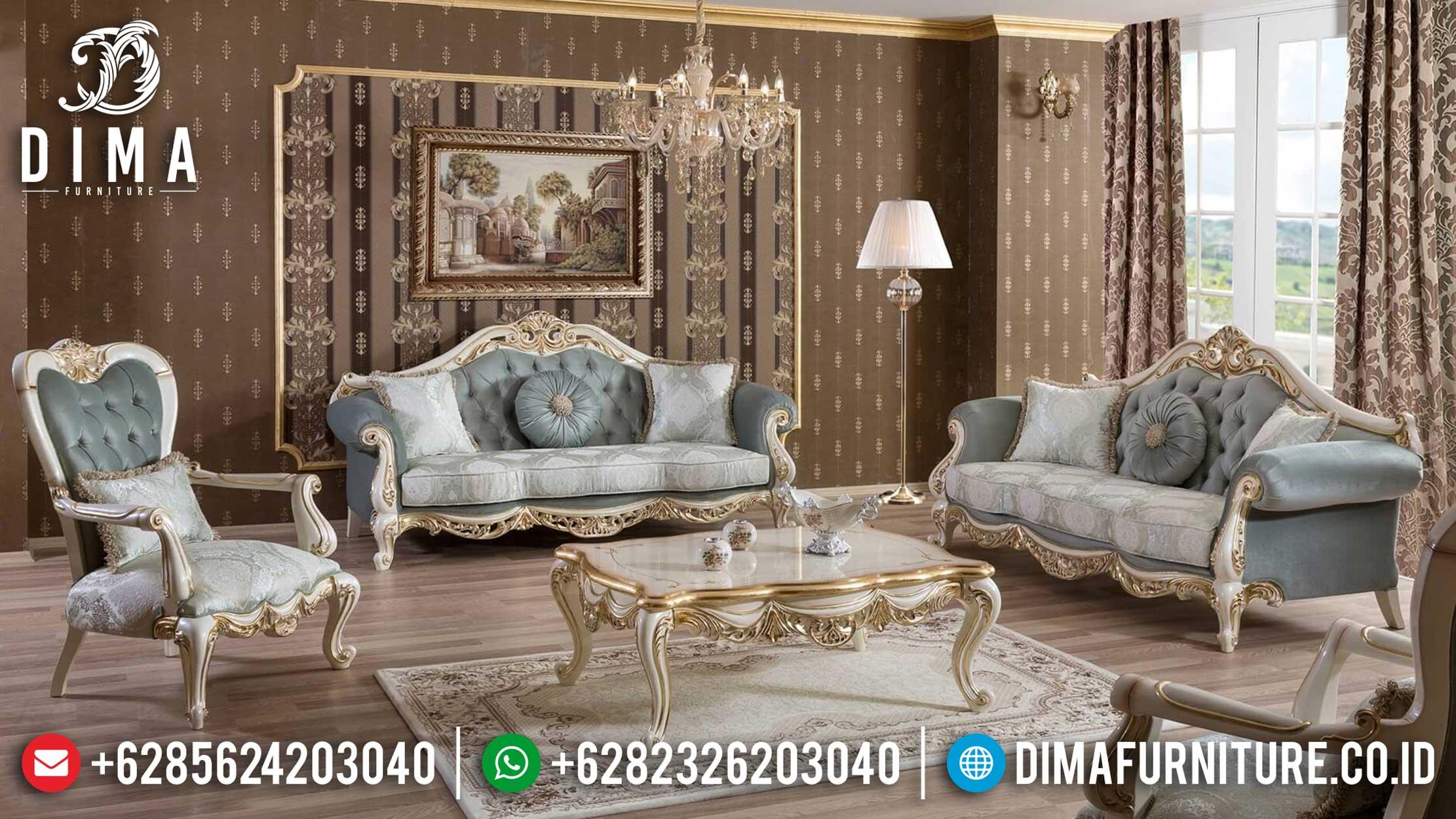 Set Sofa Tamu Mewah Klasik Duco Ankara ST-0913