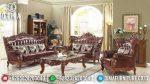 Set Sofa Tamu Mewah Ukir Jepara Amore ST-0911