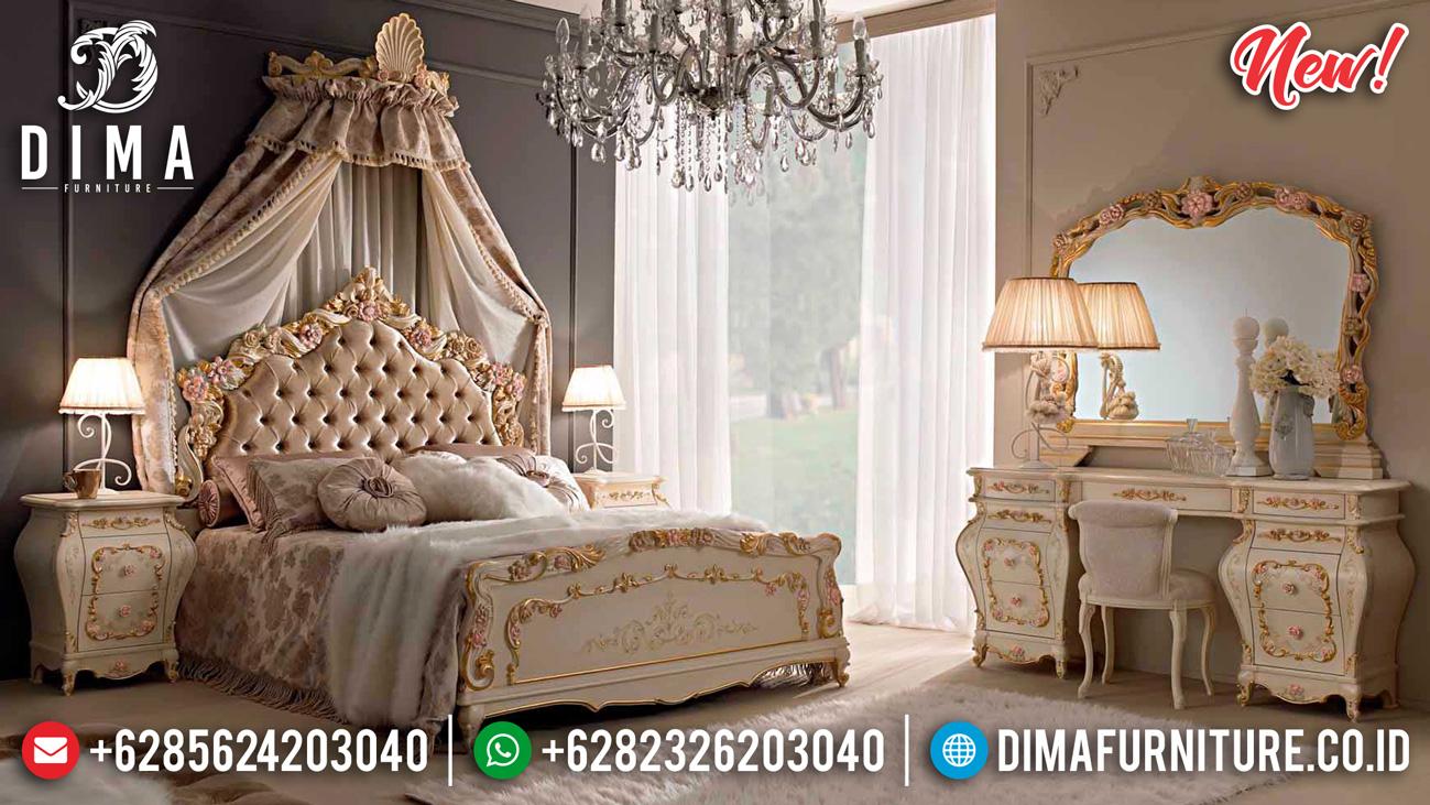 Set Tempat Tidur Klasik Mewah Duco Madonna ST-0918
