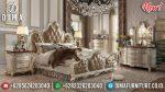 Tempat Tidur Jepara Mewah Ukir Duco Classic Terbaru ST-0898