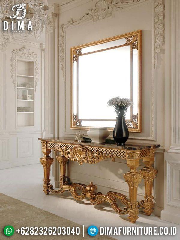 Check It Now Meja Konsol Mewah Golden Shining Luxury Carving Mebel Jepara ST-0945