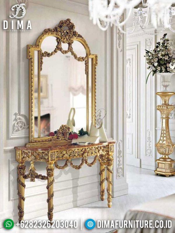 Elegant Style Meja Konsol Mewah Ukiran Luxury Royals Set Mebel Jepara ST-0947