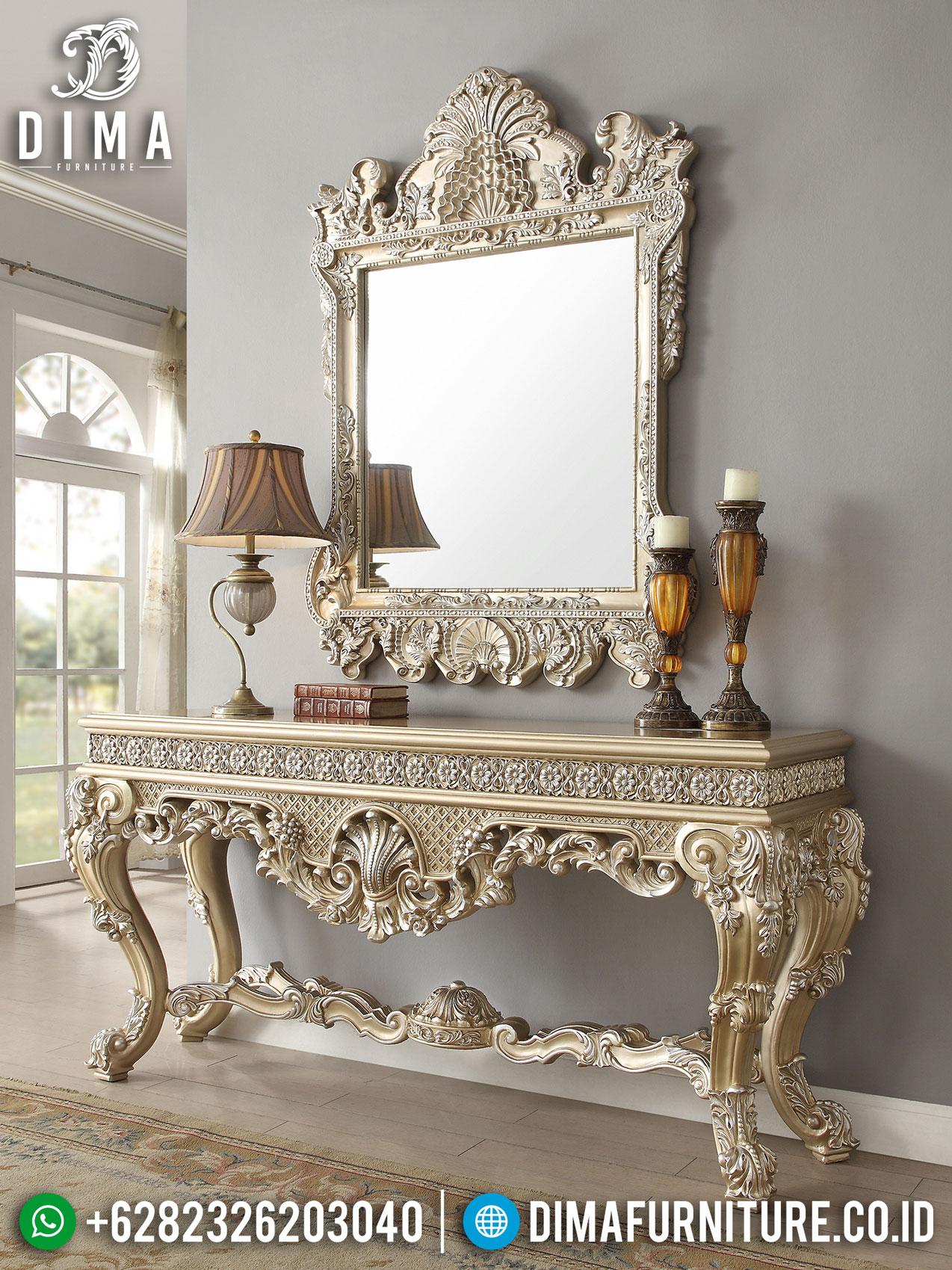 Fabiolla Meja Konsol Ukiran Mewah Luxury Classic Design Interior Inspiring Jepara ST-0948