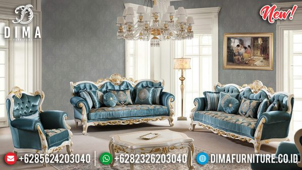 Furniture Jepara Sofa Tamu Mewah Classic Luxury Royal New Year Update ST-0986