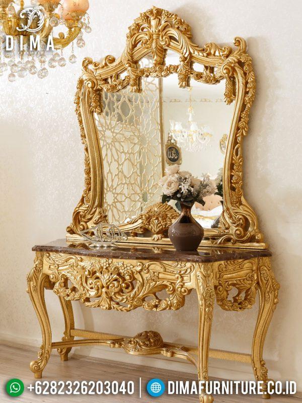 Glorious Meja Konsul Mewah Golden Shine Furniture Jepara Terupdate ST-0971