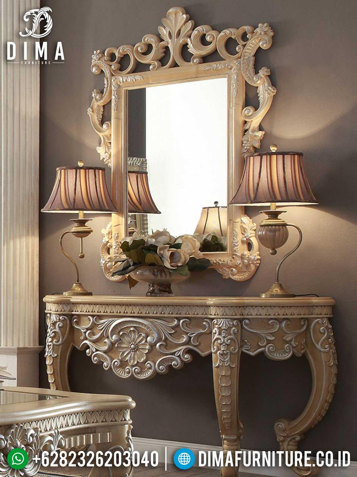 Harga Meja Konsul Mewah Luxury Carving New Year Edisi Natal ST-0950