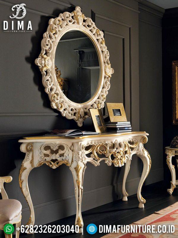 Jual Meja Konsul Mewah Ukir Jepara Luxy Classic New Release Christmas Edition ST-0966